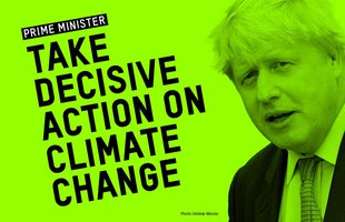 Prime Minister - Take Decisive Action On Climate Change