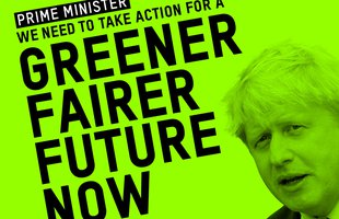 Prime Minister - We need a greener fairer future now