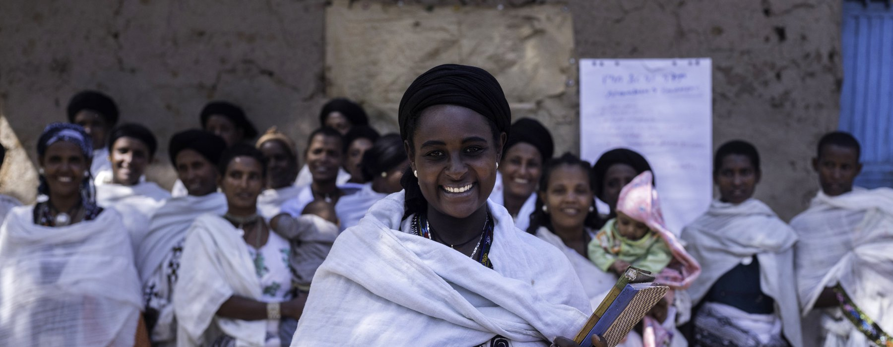 Addise is beekeeping in Ethiopia