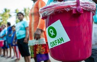 An Oxfam bucket