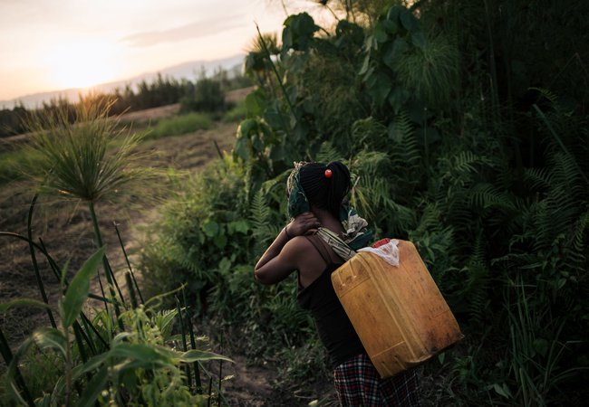 Oxfam's longest-ever water pipeline