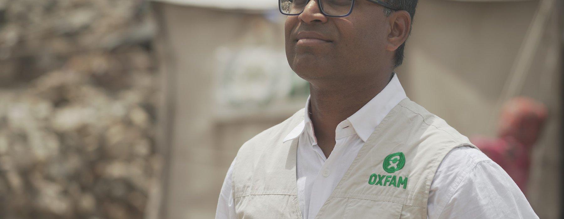 Danny Sriskandarajah Oxfam GB CEO in Yemen