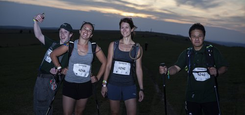 Participants at Trailwalker 2019