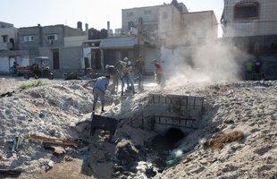 Sewage in Gaza