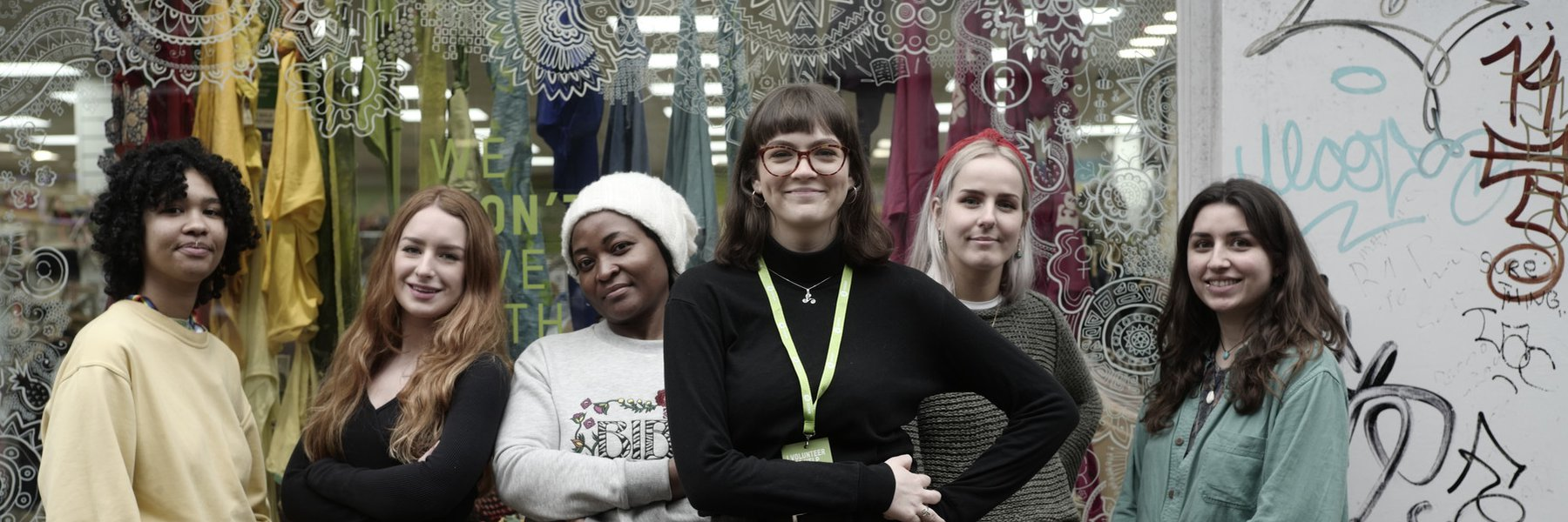 Volunteers at Oxfam Emporium, Manchester