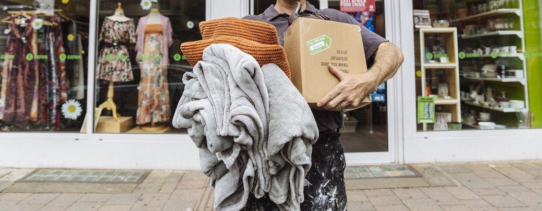 Oxfam shop on Cowley Road