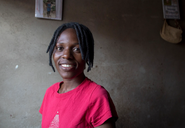 Cynthia is a local We Care Champion in Zimbabwe. Photo: Cynthia Matonhodze/Oxfam