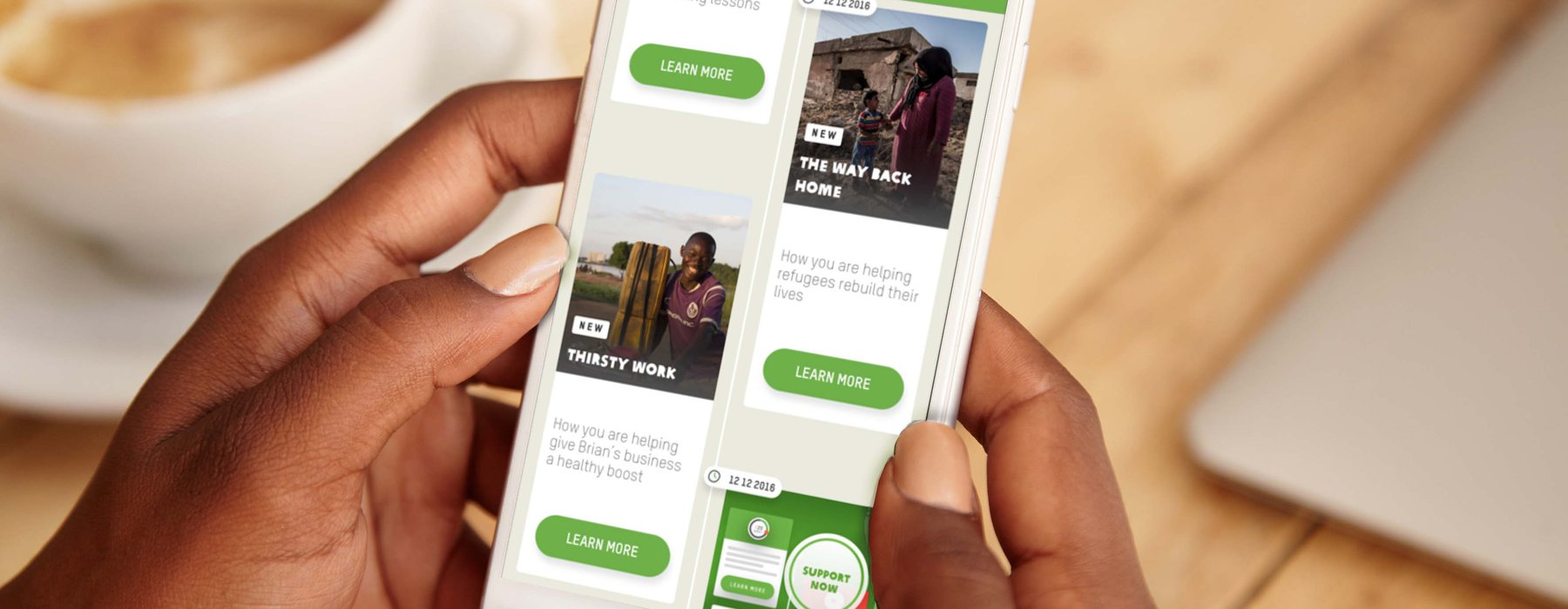 MyOxfam app photo