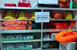 One of our partners, PHILSSA in Quezon City, has supplies ready to respond to Typhoon Goni in the Philippines