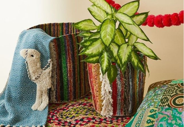 A selection of ethical homewares from the Sourced By Oxfam collection