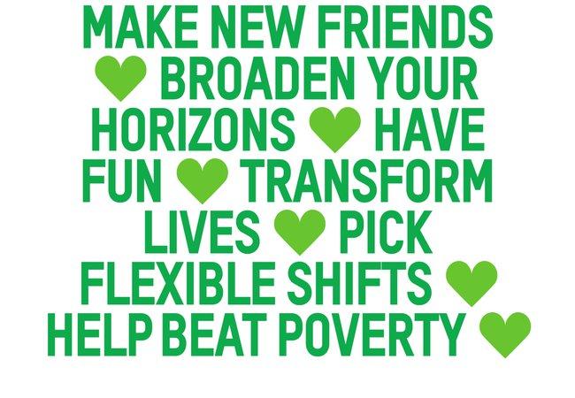 Volunteer for Oxfam