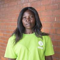 Shylet is a We Care Champion. Photo: Cynthia Matonhodze/Oxfam