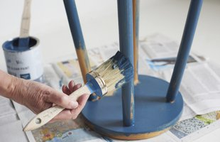 Repainting a chair